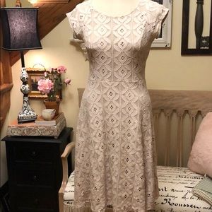 Altar'd State Lace Dress with Cap Sleeve